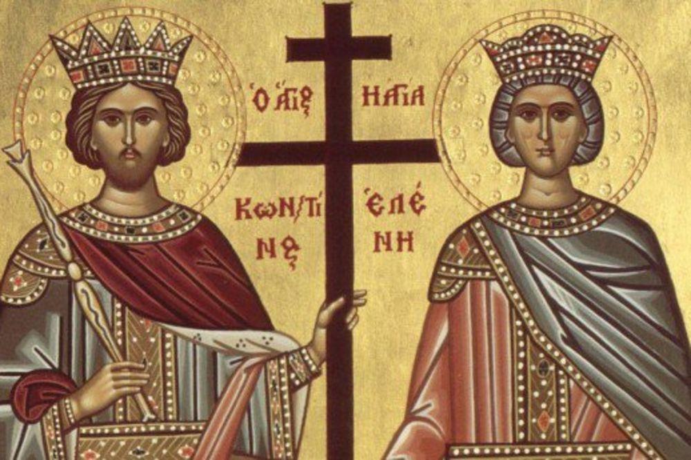 Литургија: Свети цар Константин и царица Јелена